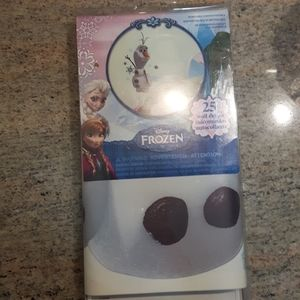 Olaf wall decals in packaging